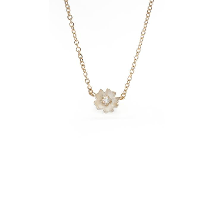 Buttercup Single Flower Necklace