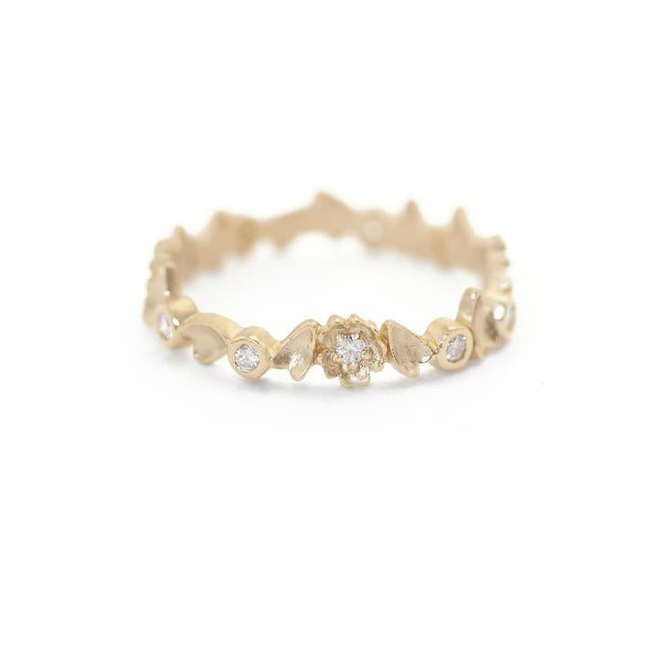 Buttercup Eternity Band