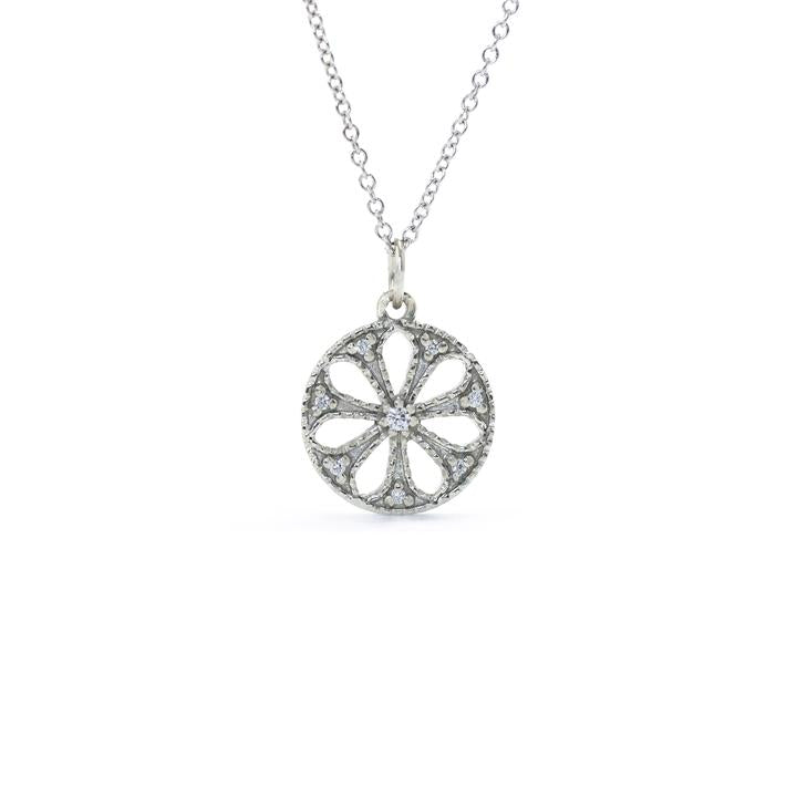 Pinwheel Necklace | Magpie Jewellery