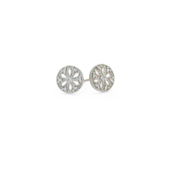 Pinwheel Small Post Earrings | Magpie Jewellery