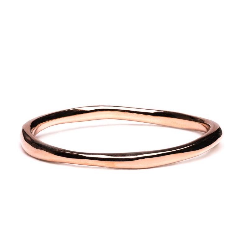 Vines Gold Wedding Band