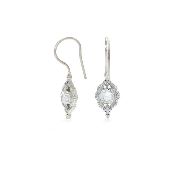 Venise Frame Drop Earrings