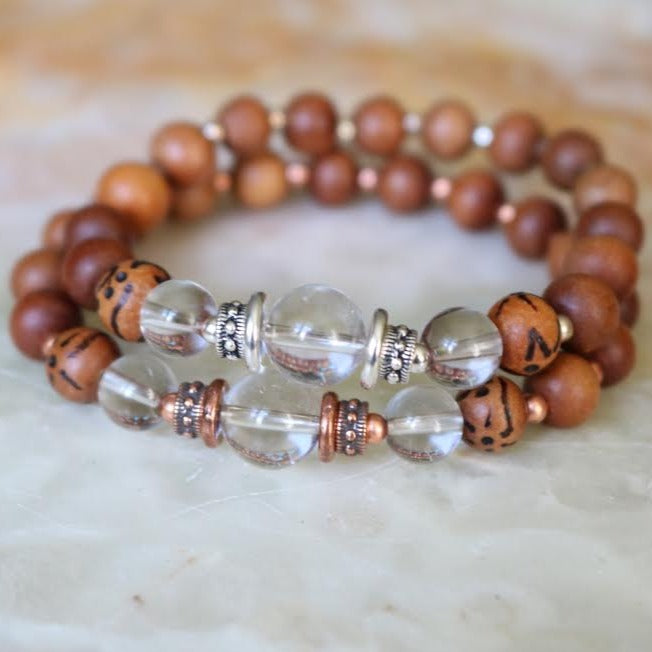 Quartz Intention Bracelet