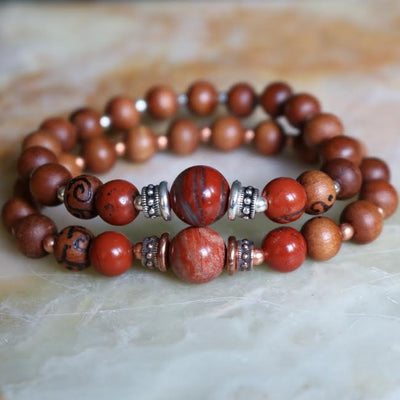 Red Jasper Intention Bracelet | Magpie Jewellery