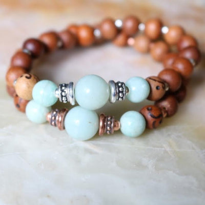 Amazonite Intention Bracelet | Magpie Jewellery
