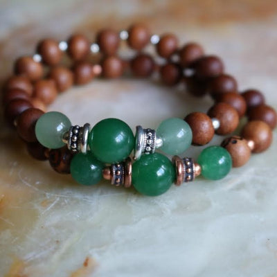 Aventurine Intention Bracelet | Magpie Jewellery