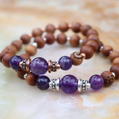 Amethyst Intention Bracelet