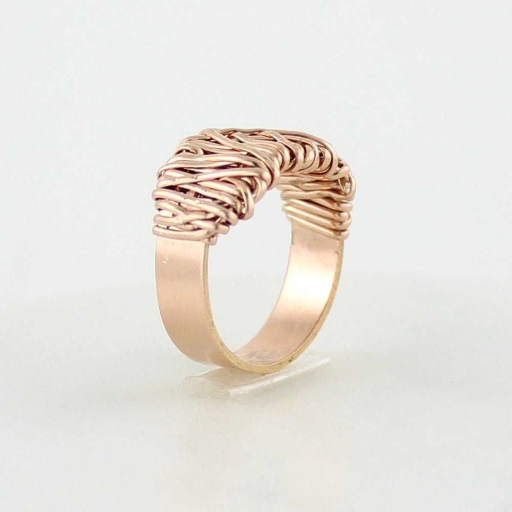 The Everyday Ring | Magpie Jewellery | Rose Gold | Detail Shot