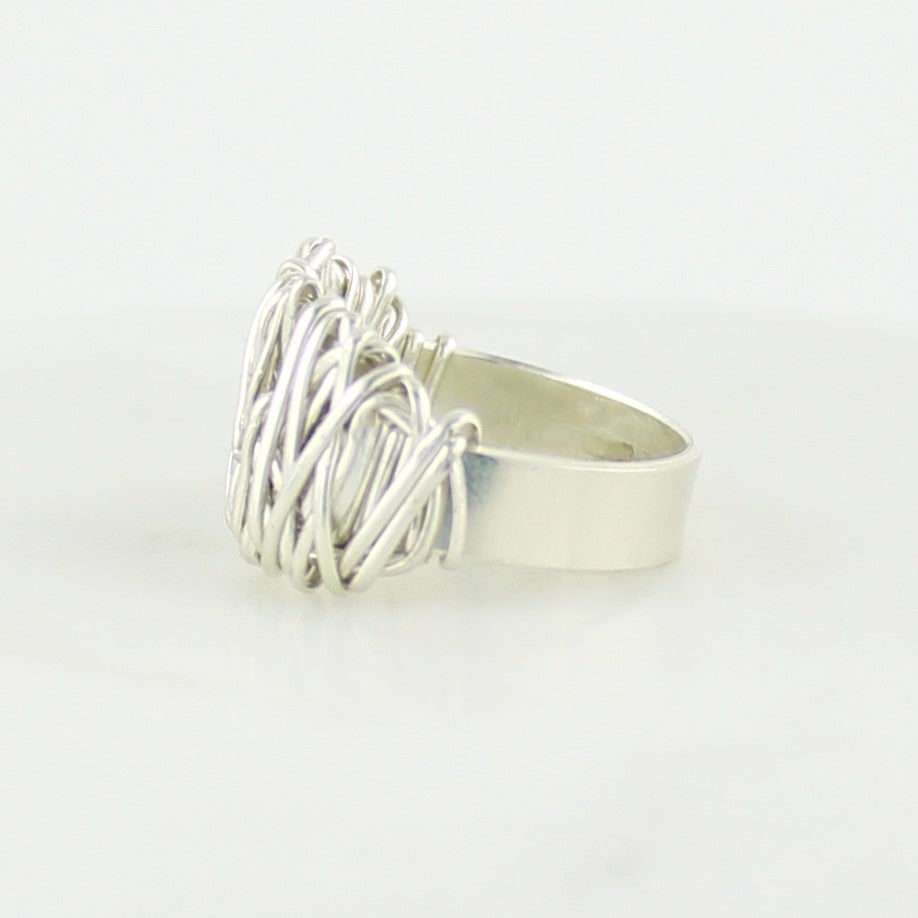 The Everyday Ring | Magpie Jewellery | Silver | Detail Shot