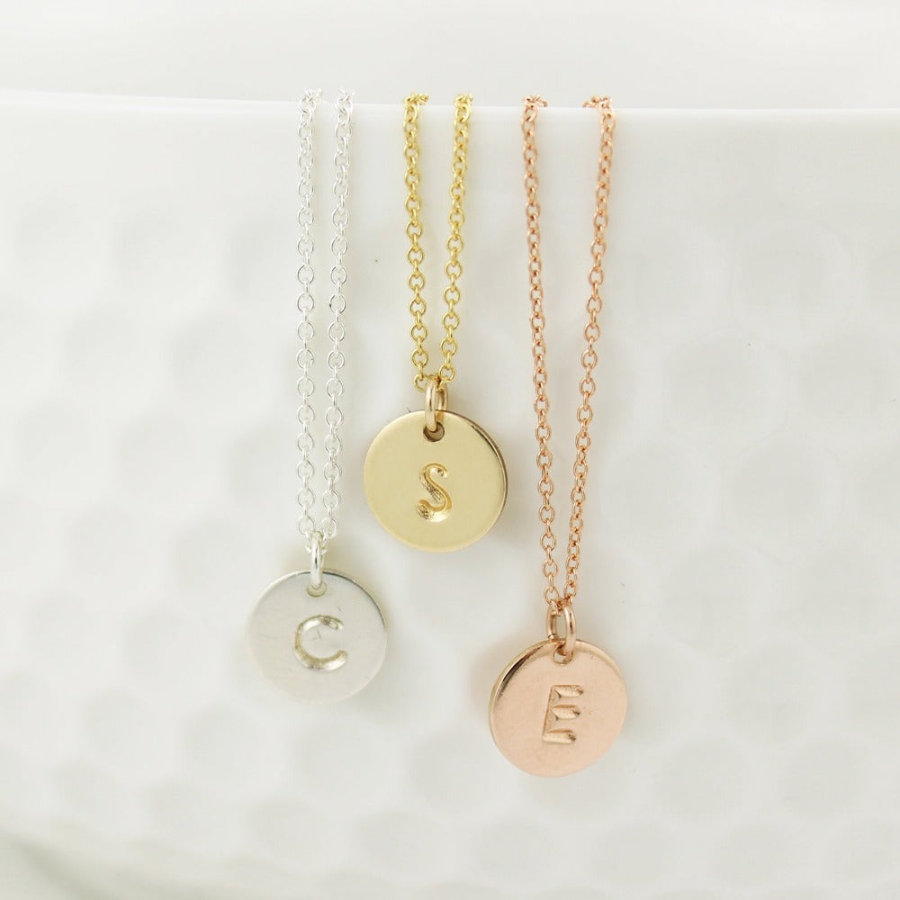 Monogram Necklace - up 4 letters