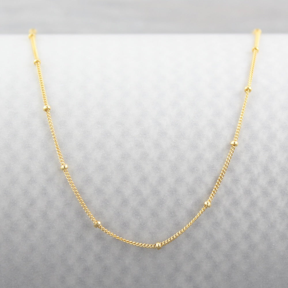 Satellite Chain | Magpie Jewellery | Yellow Gold