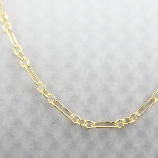 Long & Short Chain | Magpie Jewellery | Yellow Gold