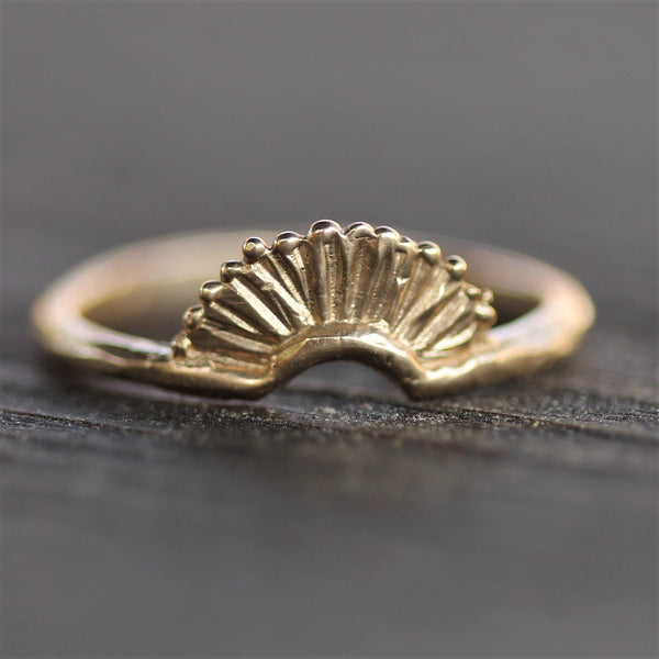 Little Sunrise Ring | Magpie Jewellery