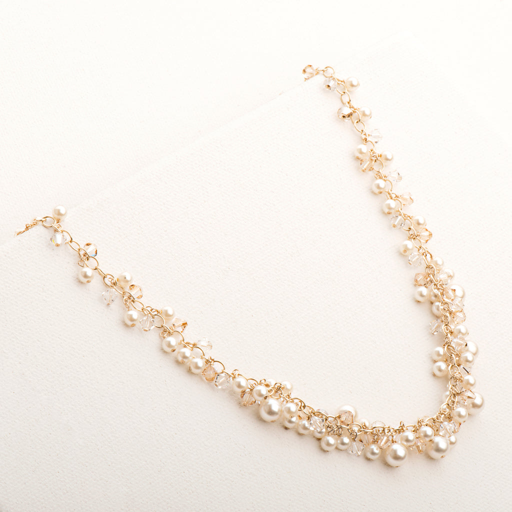 Tapered Rosie Pearl Necklace