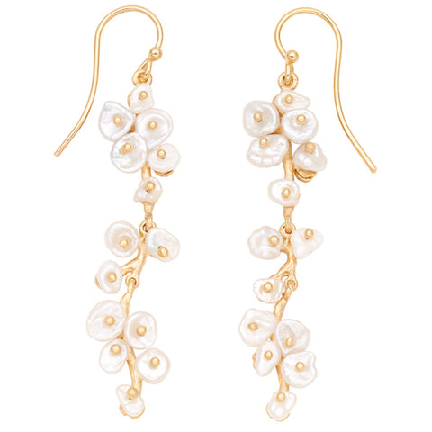 Jasmine Long Dangle Earrings