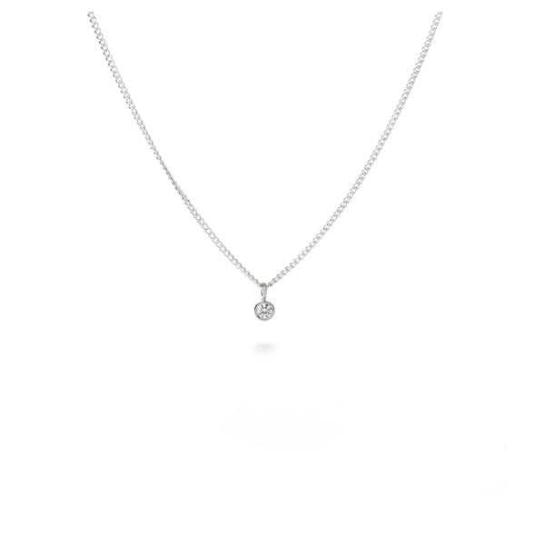 Micro CZ necklace