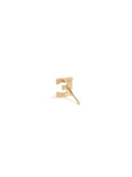 Love Letter single diamond stud A to Z