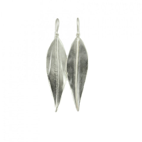 Large Willow Leaf Earrings