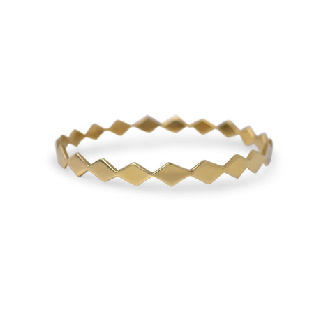 DIAMOND PATH BANGLE