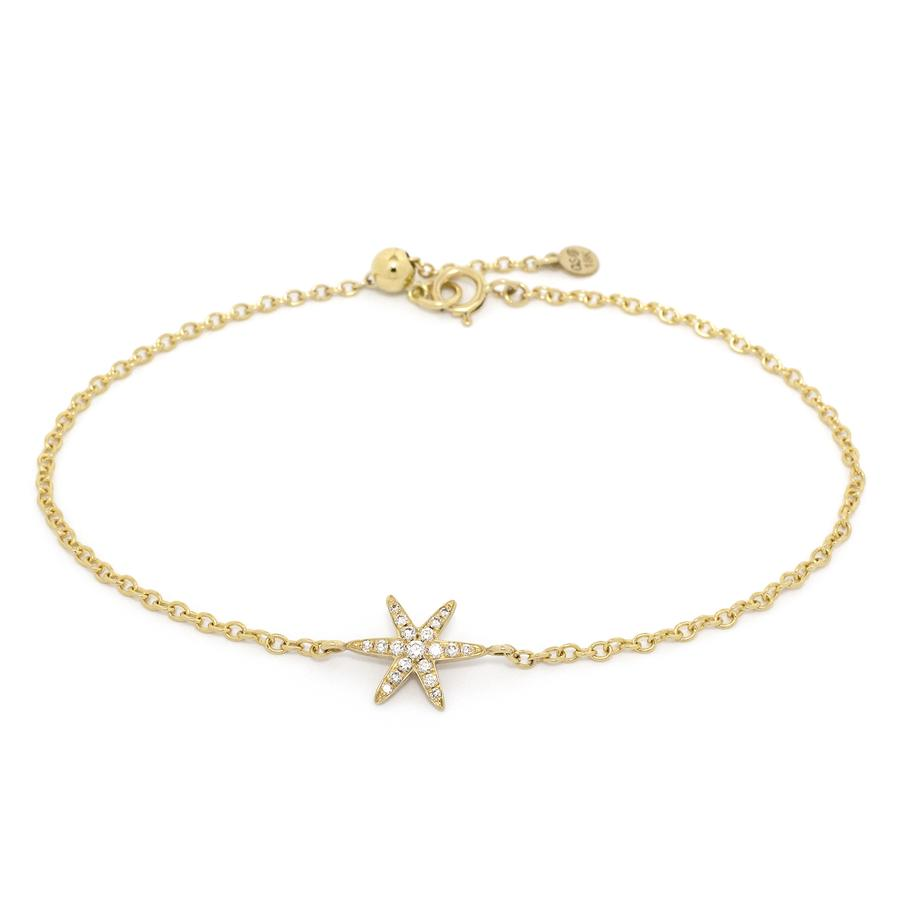 Diamond Pave Star Bracelet | Magpie Jewellery