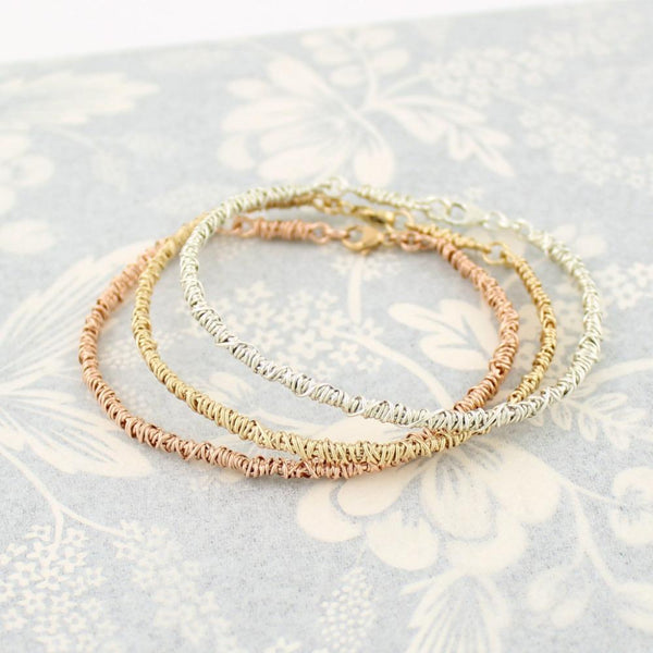 The 20/20 Cuff Bracelet | Magpie Jewellery | Rose Gold | Yellow Gold | Silver | Listed From Right-to-Left