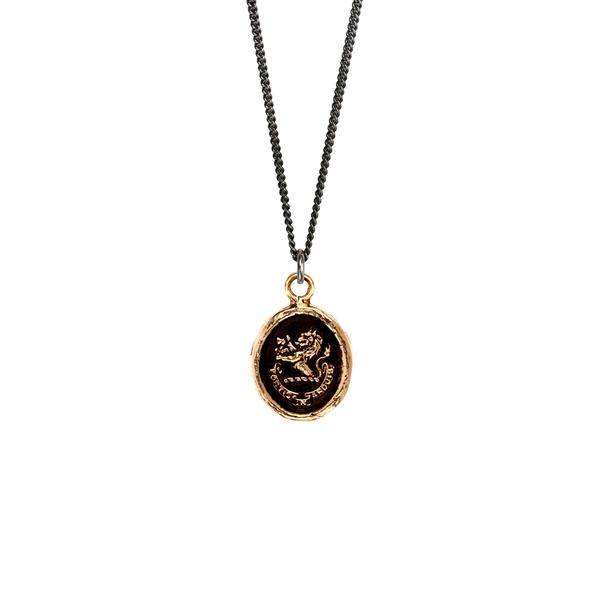 Brave in Difficulties Talisman Bronze | Magpie Jewellery Bronze