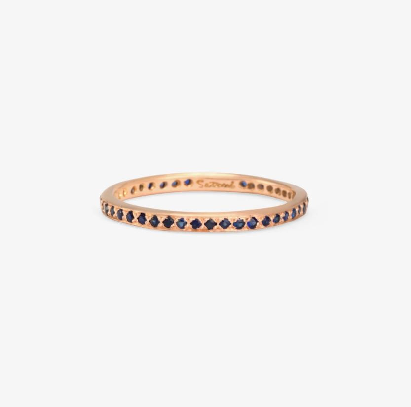 Sapphire Eternity Band RG | Magpie Jewellery