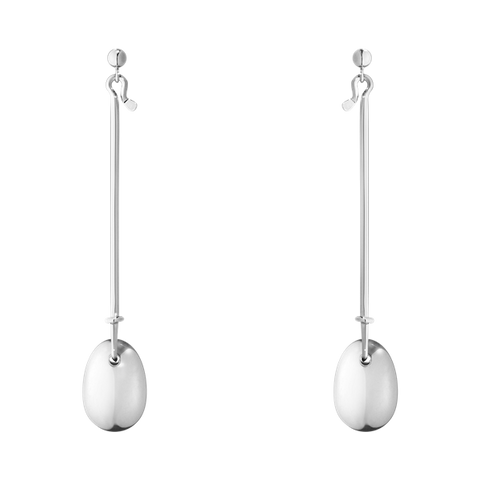 DEW DROP EARRINGS - STERLING SILVER