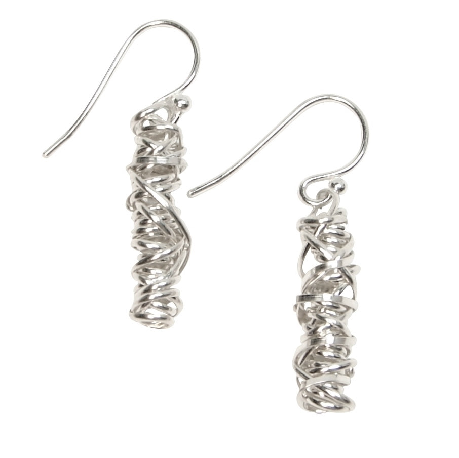 Twist Earring - Small | Magpie Jewellery | Silver