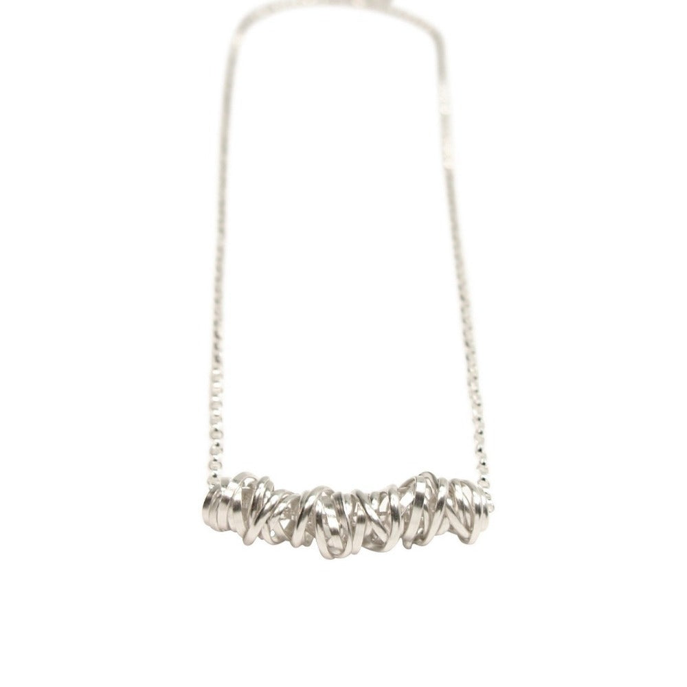Twist Necklace - Small | Magpie Jewellery | Silver