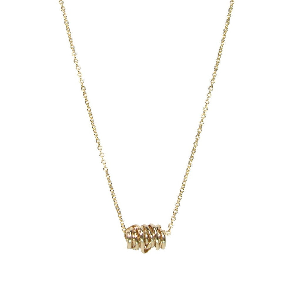 Twist Necklace - Mini | Magpie Jewellery | Yellow Gold