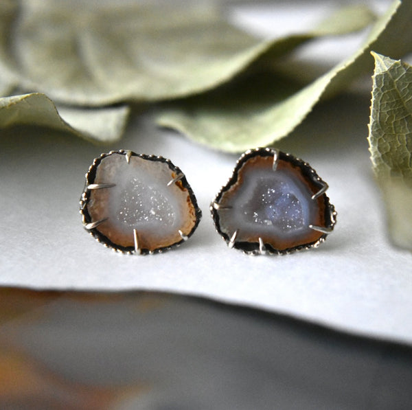 Hekate Geode Studs