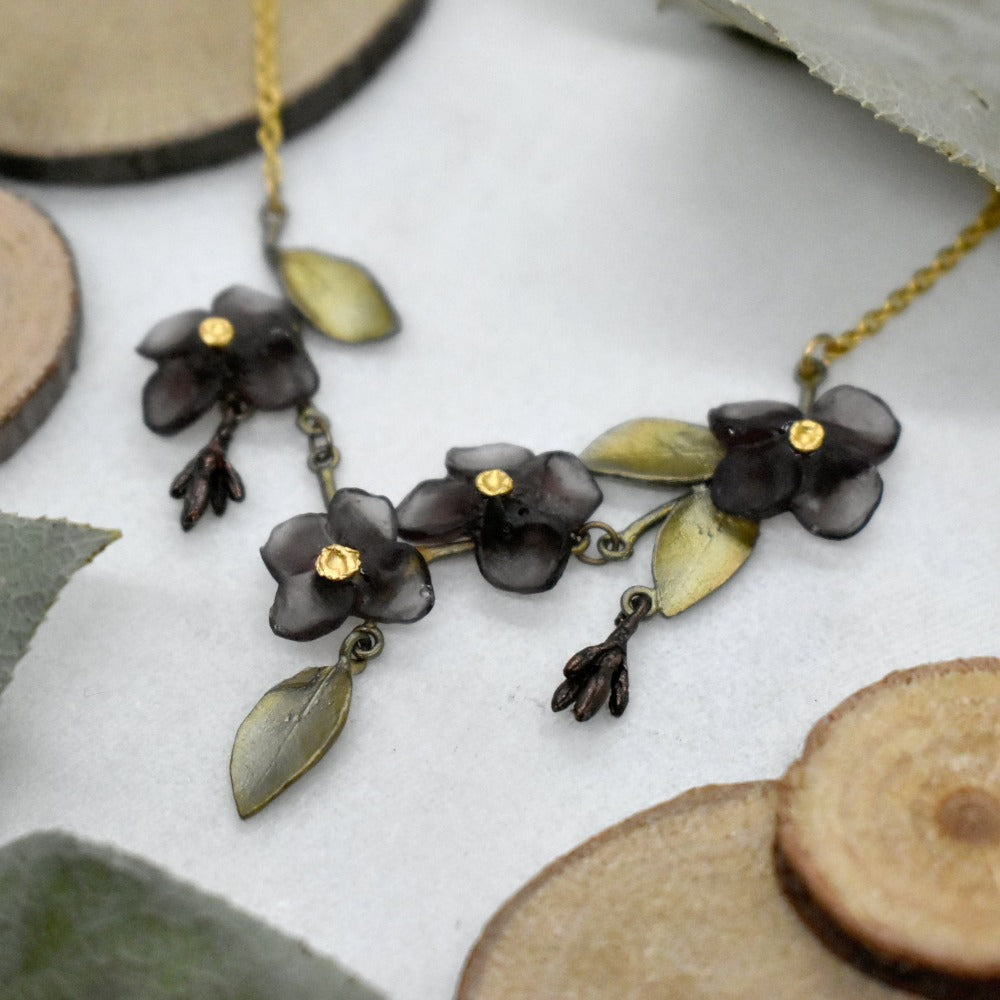 Wood of Life Mini Statement Necklace