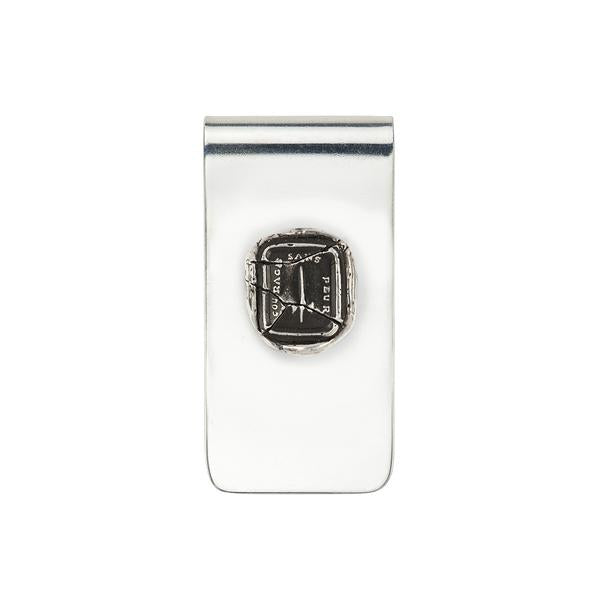 Dagger Money Clip-Silver