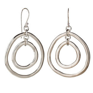 Double Circle Earrings