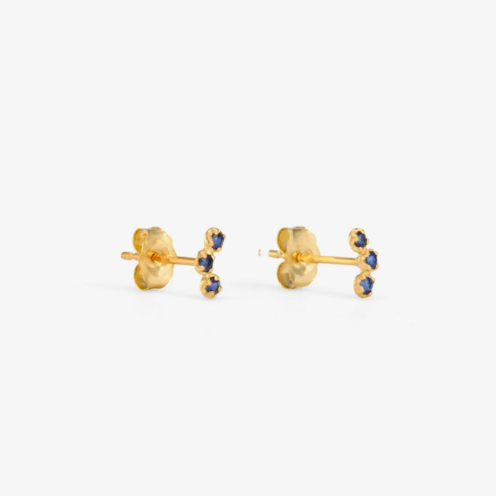 Sapphire Orion Studs | Magpie Jewellery