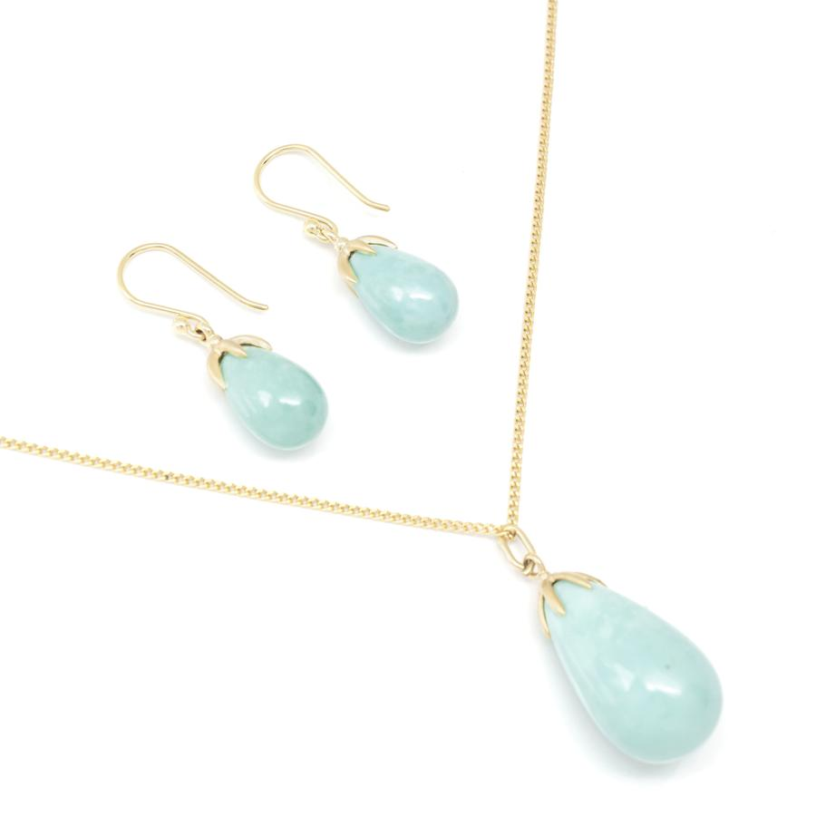 Teardrop Turquoise Earrings | Magpie Jewellery