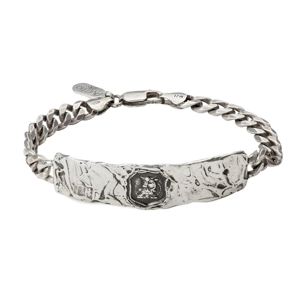 Fatherhood Wide ID Bracelet