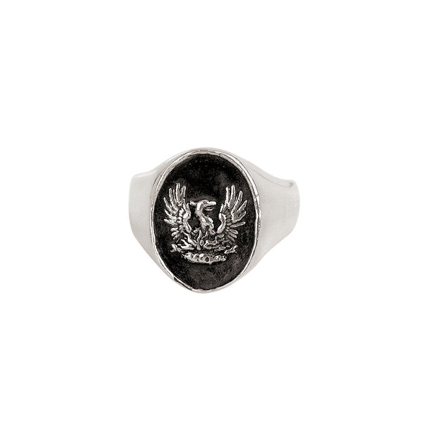 Fire Within Signet Ring | Magpie Jewellery