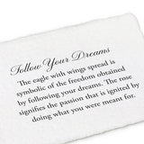 Follow Your Dreams 14k Gold Talisman