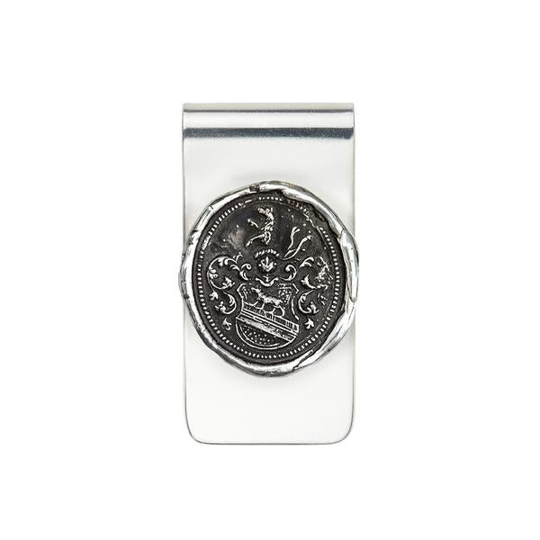 Heart of the Wolf Money Clip-Silver
