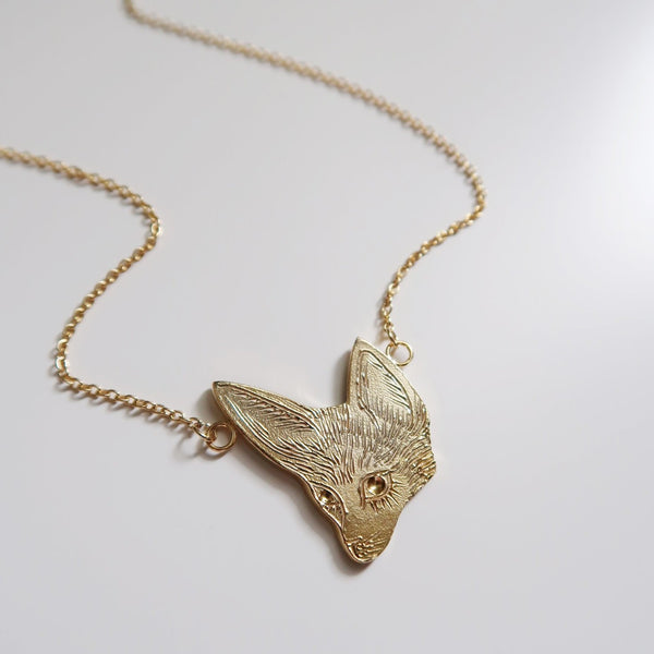 Fennec Fox Necklace