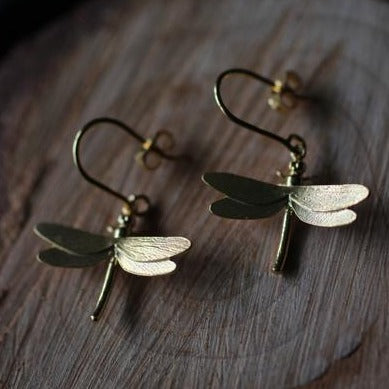 Dragonfly Drops | Magpie Jewellery
