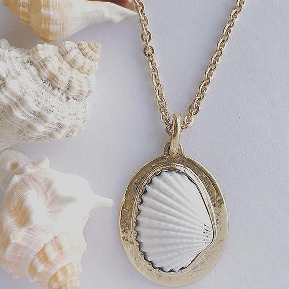 Shell Pendant | Magpie Jewellery