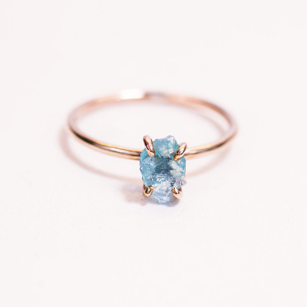 Apatite Ring | Magpie Jewellery