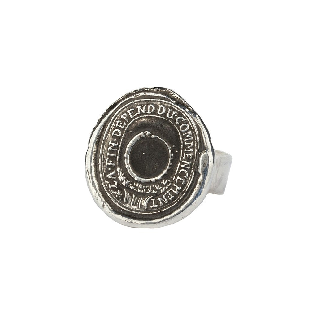 Knowledge Ring Silver | Magpie Jewellery
