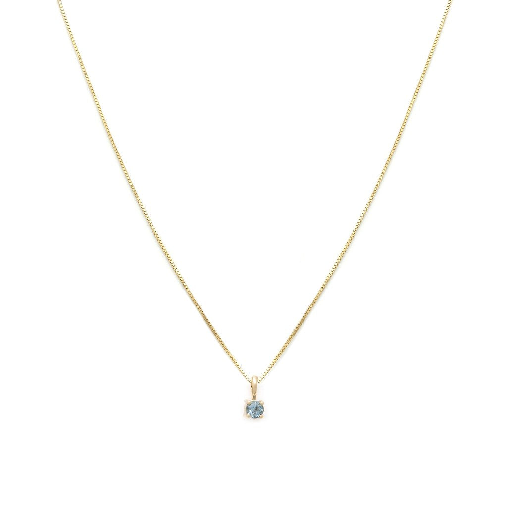 14k Gold Element Necklace