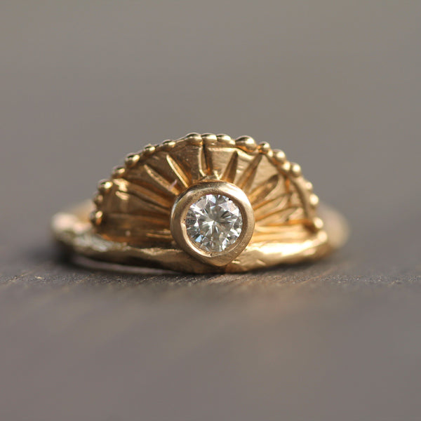 Sunrise Ring | Magpie Jewellery
