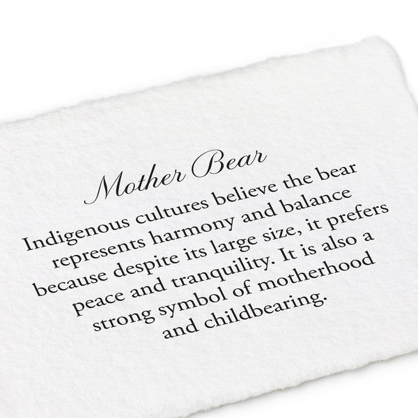 Mother Bear Talisman