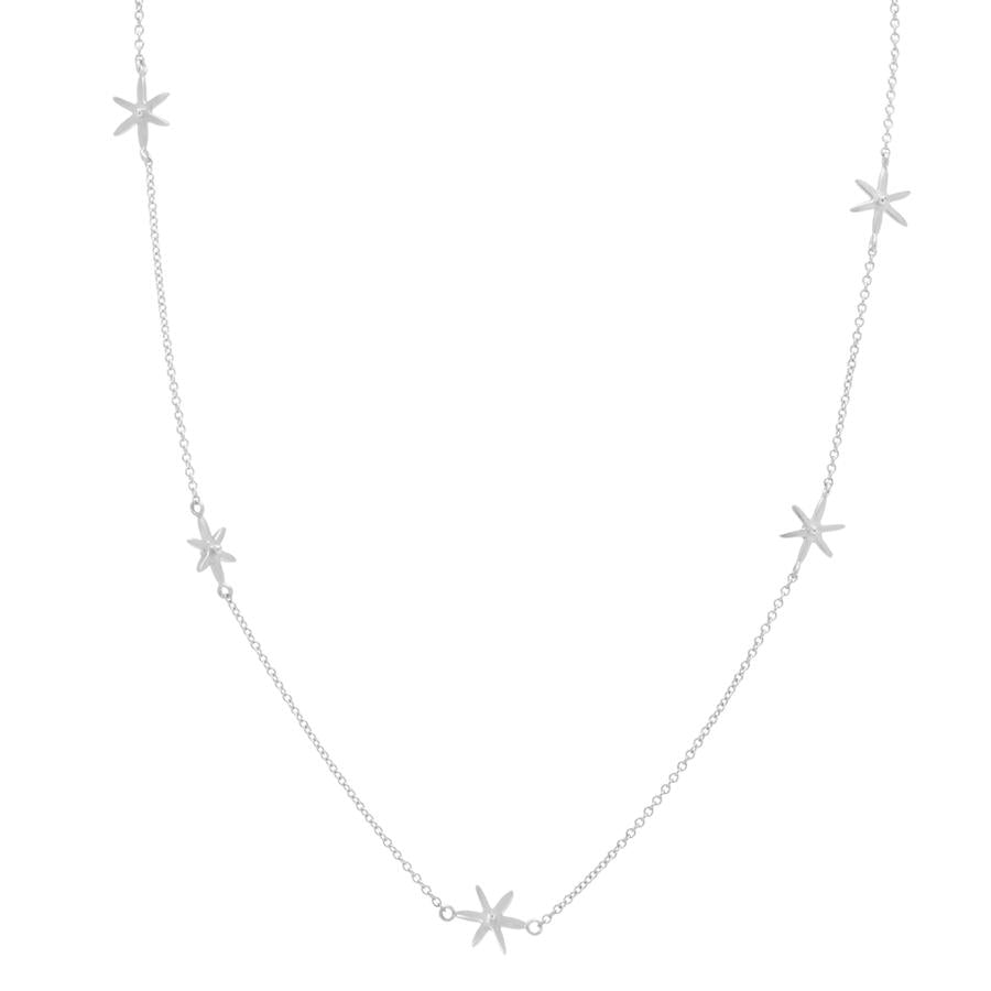 Scattered Star Necklace WG | Magpie Jewellery